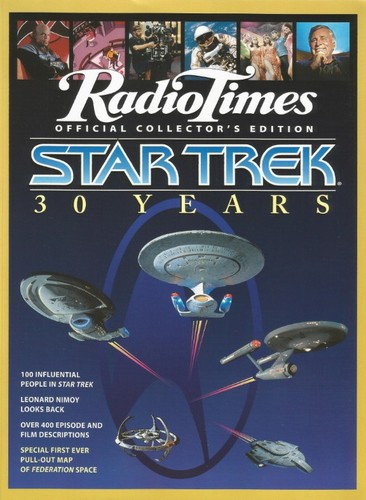 RadioTimes Official Collectors Edition Star Trek 30 Years