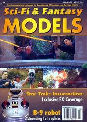 Sci-Fi & Fantasy models cover 34