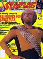 Starlog issue 138 cover