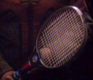 Tennisschläger bespannt