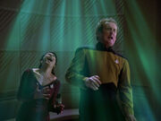 Troi und O'Brien Plasmaschock