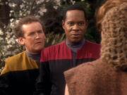 Sisko will seine Arbeit machen