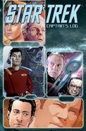 Star Trek Captains Log tpb cover