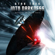 Star Trek Into Darkness Calendar 2014 UK