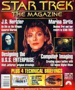Star Trek The Magazine volume 1 issue 10 cover