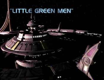 Little Green Men title card