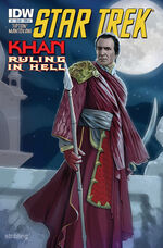 Khan - Ruling in Hell issue 1 cover A