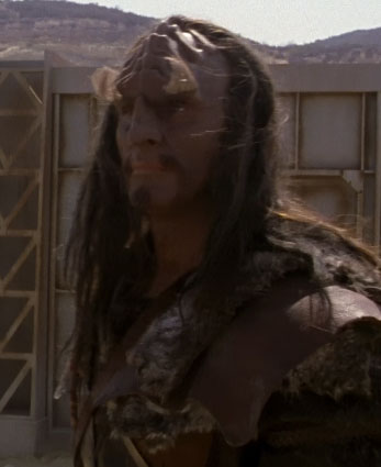 ...as a Klingon marauder