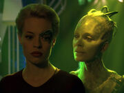 Seven and the Borg Queen