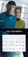 Star Trek Into Darkness Calendar 2014 November