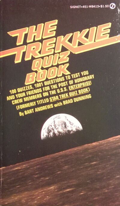 The Trekkie Quiz Book