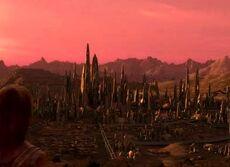 Vulcan at dawn