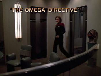 The Omega Directive title card