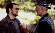 James Cromwell and Jonathan Frakes