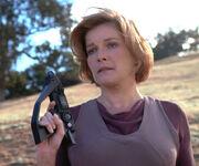 Kathryn Janeway, 2374