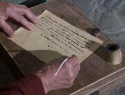 Kelemane's letter