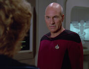 Picard is angry with Pulaski