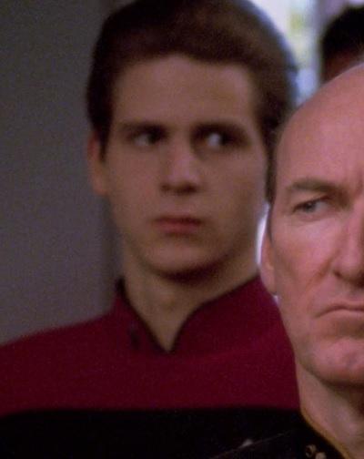 ...as a Starfleet cadet