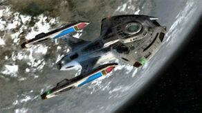 USS Equinox, dorsal aft