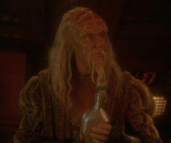 ...as Darok, a Klingon