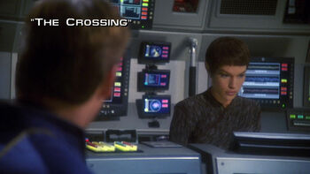 The Crossing title card
