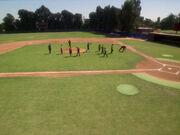 Baseball Spielfeld