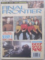 Final Frontier issue 20 cover