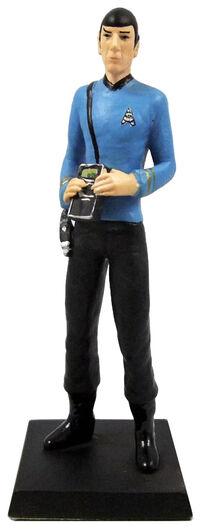 GE Fabbri 2 Spock figurine