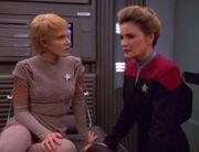 Kes erzählt Kathryn Janeway ihre Geschichte 2372