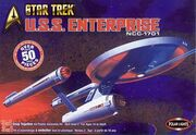 Polar Lights Model kit PL4200 USS Enterprise 2003