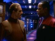Sisko erklärt Odo seine Aufgabe