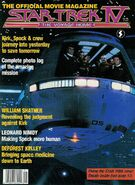 Star Trek IV Official Movie Magazine cover