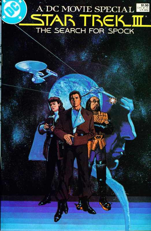 Image result for Star Trek III Search for Spock comic