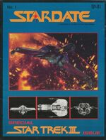 Stardate volume 1 issue 1 cover