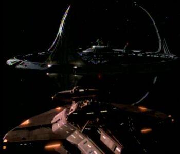 Toran's warship