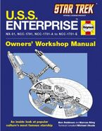 USS Enterprise Owners Workshop Manual cover (US)