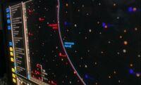 Vulcan-Andorian border, display