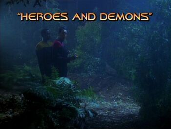 Heroes and Demons title card