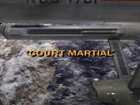 1x14 Court Martial title card