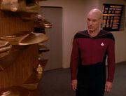 Picard betrachtet Modelle