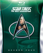 TNG Season 4 Blu-ray cover