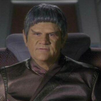 ...as Captain Tavek