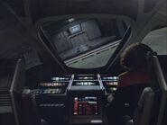 Class 2 shuttle entering shuttlebay