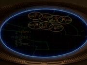 Defiant lockt Schiffe vom Orias-System weg