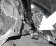 Johnny Lightning S2 White Lightning Delta Shield