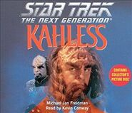 Kahless audiobook cover, CD edition
