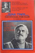 Official Fan Club Magazine issue 46 cover