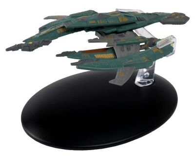 Raumschiffsammlung 69 Breen-Kriegsschiff