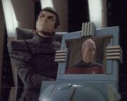 Romulan desktop monitor