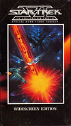 The Undiscovered Country US widescreen VHS cover
